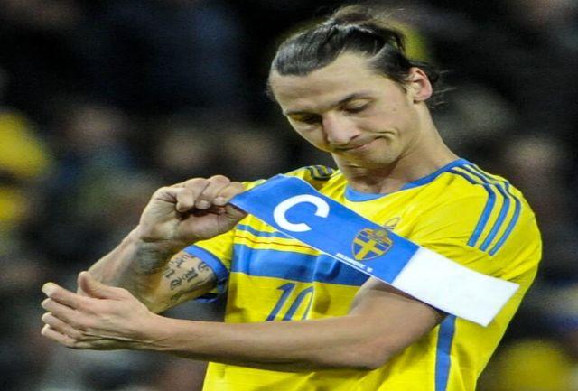 خداحافظی فوق ستاره سوئدی فوتبال با پیراهن زردآبی