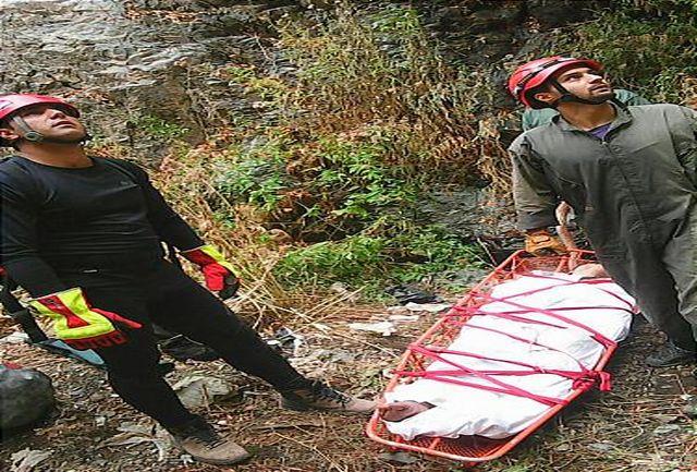 نجات مرد میانسال از عمق 1700 متری کوهستان