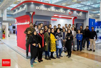 داستان خبرگزاری برنا در نمایشگاه مطبوعات/ ببینید