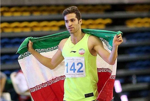 قهرمان ملی ایران مدال هایش را به آستان قدس تقدیم می کند