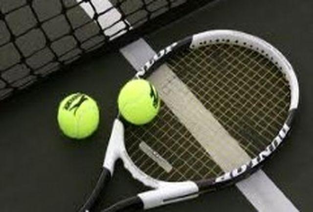 تنیسورهای ایران با پاکستان، هند و نیوزلند همگروه شدند