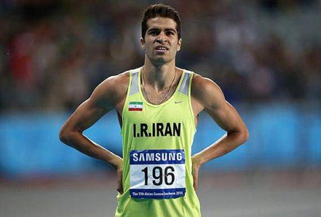 پایان کار تفتیان در دوی 100 متر مردان