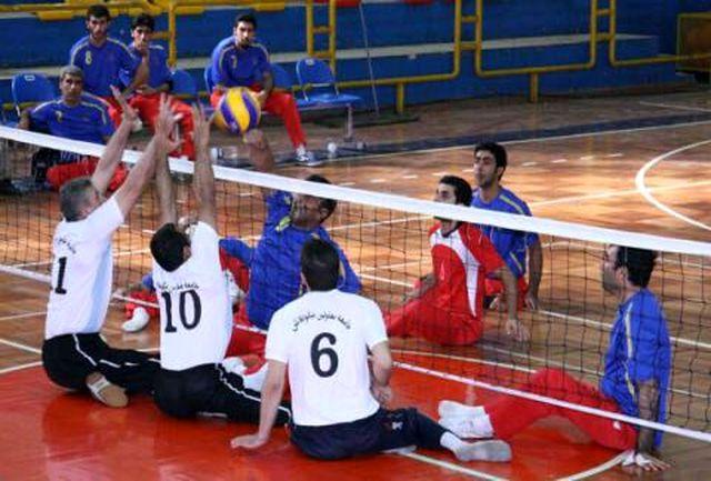 در سری مسابقات چهارجانبه تیم والیبال نشسته شهرستان کاپ قهرمانی را درخانه کسب کرد