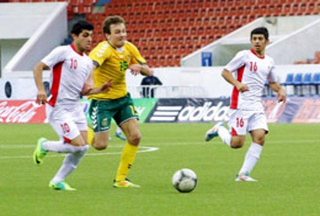 مقام پنجمی تیم فوتبال جوانان ایران در تورنمنت روسیه