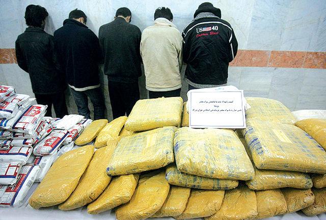 کشف 546 تن مواد مخدر در 10 ماه