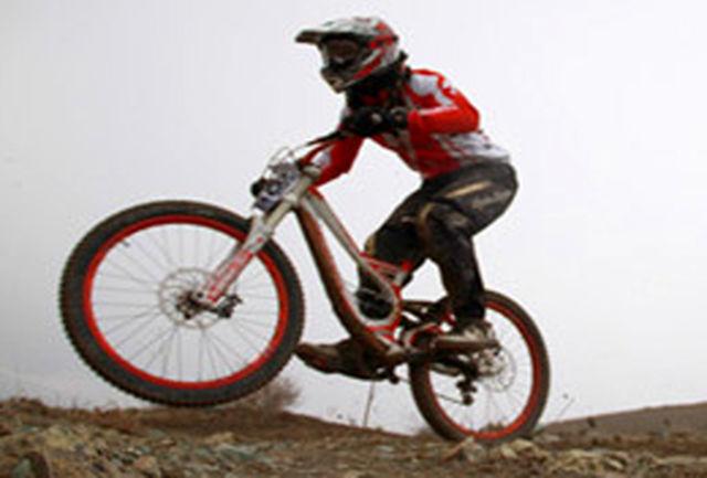 نایب قهرمانی دوچرخه سوار گلستانی در لیگ دانهیل