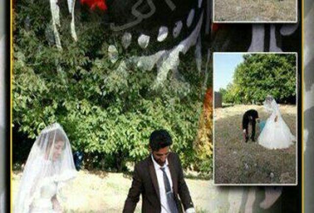 حرکت محیط زیستی عروس و داماد لرستانی درشب عروسی