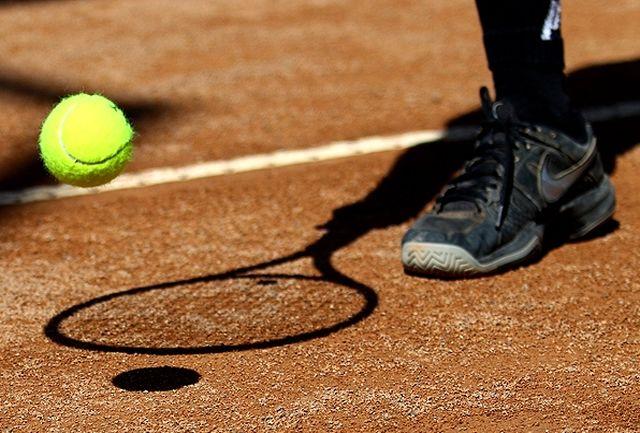 معرفی نفرات برتر روز نخست تنیس بین المللی پیشکسوتان
