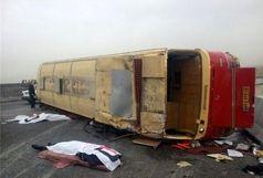 20 مجروح حاصل تصادف سرویس مدرسه در کرمان