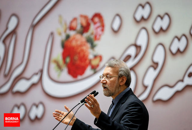 نشست مشترک رئیس مجلس با سفرای کشورهای اسلامی در تهران/ عکس