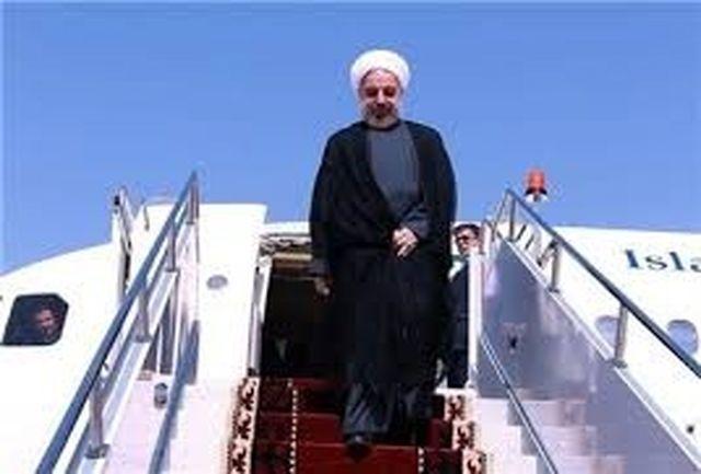 رییس جمهوری وارد بوشهر شد