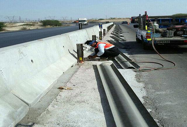 حجم عملیات اجرایی دراداره راهداری وحمل ونقل جاده ای شهرستان حاجی آباد