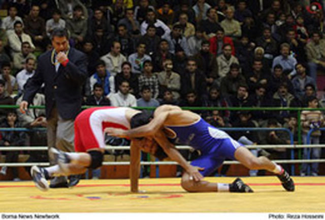 نمایندگان 5 وزن اول ایران حریفان خود را شناختند