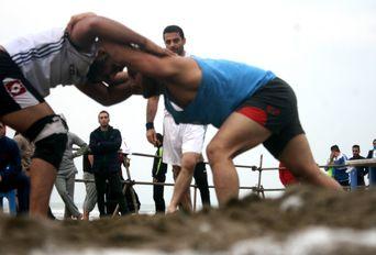 مسابقات کشتی ساحلی - محمودآباد