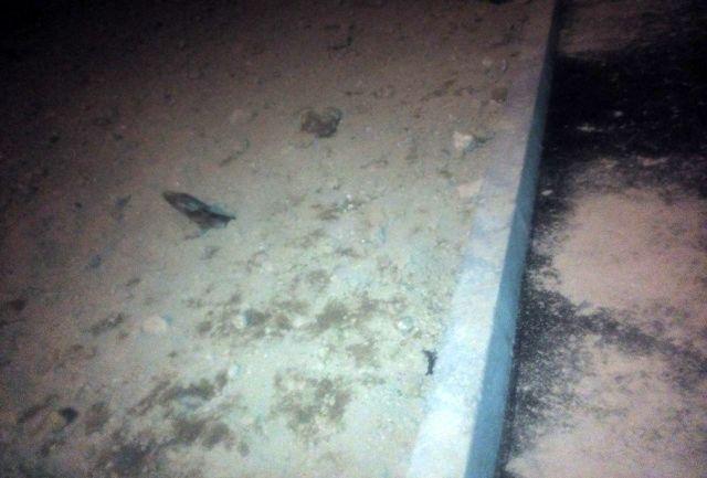 کشف گلوله خمپاره عمل نکرده در قلب تهران