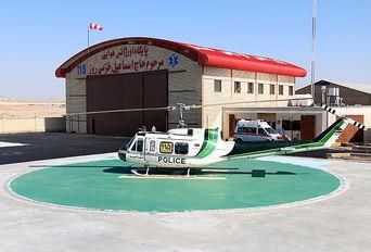 عملیات احداث نخستین پایگاه اورژانس هوایی استاندارد کشوری در قم