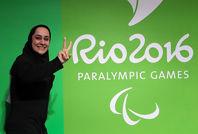 مدال طلای ((ساره جوانمردی)) در تیراندازی پارالمپیک ریو