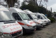 استقرار 16 دستگاه آمبولانس در مسیر کاروانهای اعزامی به مراسم سالگرد ارتحال امام(ره)