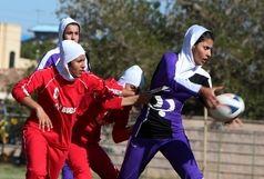تیم راگبی بانوان ایران در جایگاه دوم ایستاد