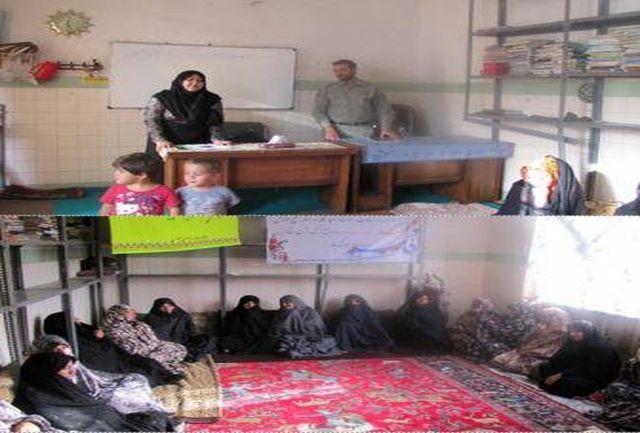 آموزش زیست محیطی زنان روستایی در روستای میناس سلماس
