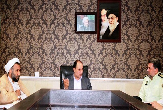 جلسه هماهنگی برگزاری آئین سوگواری حضرت اباعبدالله الحسین در شهرستان قدس برگزار شد
