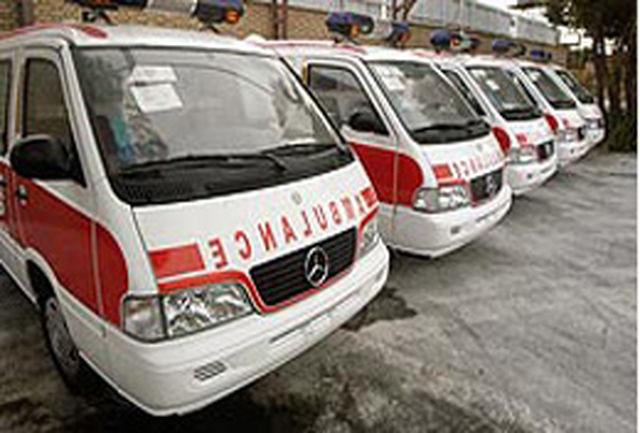 اضافه شدن هشت دستگاه آمبولانس به ناوگان بهداشت استان اصفهان