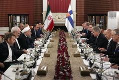 هیچ مانعی برای توسعه روابط تهران - هلسینکی وجود ندارد