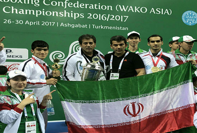 درخشش نمایندگان استان مرکزی در مسابقات کیک بوکسینگ قهرمانی آسیا