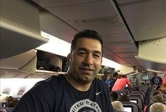 وزنه بردار المپیکی ایران برترین مربی آمریکا شد
