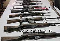 ضبط 22 قبضه اسلحه شکاری در استان