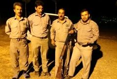 دستگیری سه شکارچی متخلف در سفید کوه