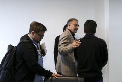 نشست خبری عبدالله رمضان زاده