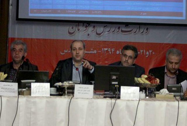 هاشمی: از تمامی ظرفیتهای مالی فدراسیونها استفاده خواهیم کرد