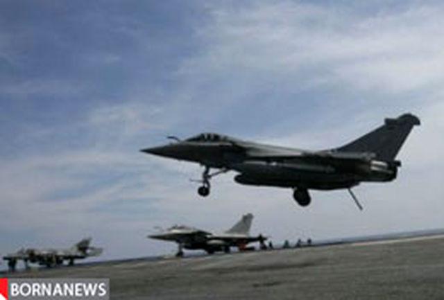 طرابلس زیر بمباران هواپیماهای پیشرفته ناتو
