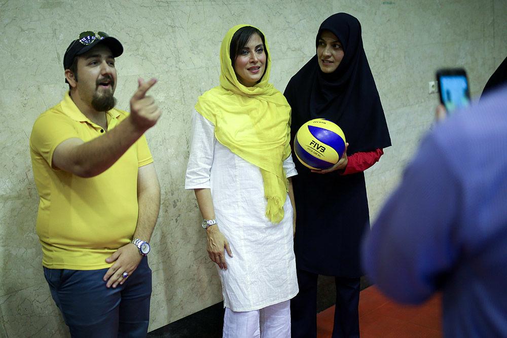 مهتاب کرامتی در اردوی تیم ملی والیبال نشسته بانوان