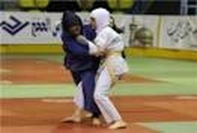 رقابت های انتخابی تیم جودو بانوان استان مرکزی برگزار شد