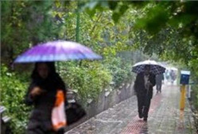 بارش باران در سواحل شمالی/پایتخت فردا  بارانی است