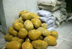 بیش از 186 کیلوگرم انواع مواد مخدر در درگیری با قاچاقچیان کشف شد