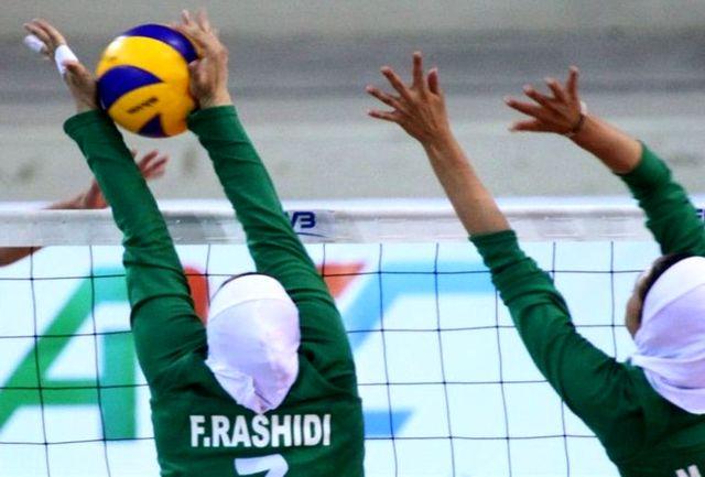 شاگردان مایدا مغلوب تیم والیبال نوجوانان اسلوونی شدند