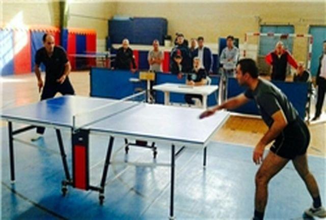 مسابقات تنیس در قزوین برگزار شد