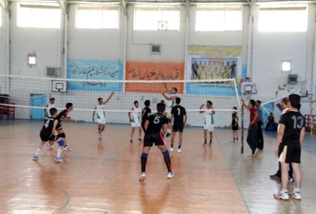 رقابتهای والیبال جام رمضان ادارات در یاسوج شروع شد