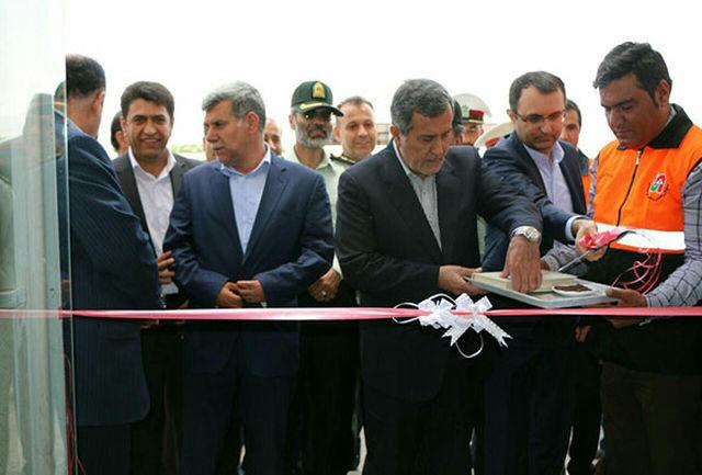 ساختمان پاسگاه پلیس راه در محور دلیجان – اصفهان افتتاح شد