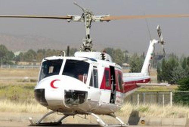 افزایش یک فروند بالگرد امدادی مجهز به ناوگان هلال احمر کیش