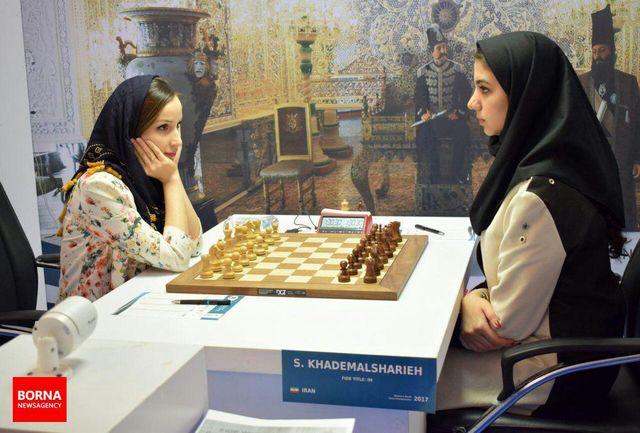 یک برد و دو تساوی برای شطرنجبازان ایران در دور دوم