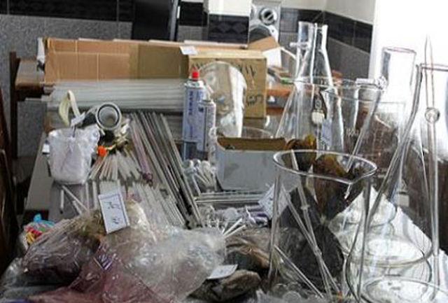کشف 140 آشپزخانه خانگی تولید شیشه/ ورود هروئین چینی به کشور صحت ندارد