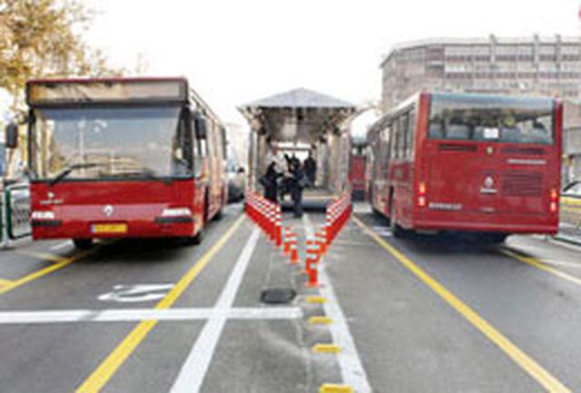 افزایش جابه جایی ها در سامانه اتوبوس های BRT به بیش از 2 میلیون نفر در روز