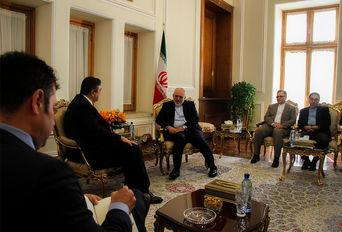 دیدار ظریف و وزیر مشاور پرتغال