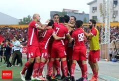 اولین برد سپیدرود رشت در لیگ برتر