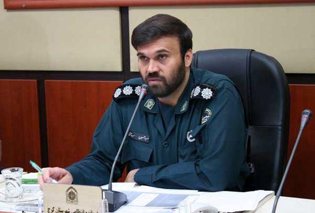 سارق لوازم خودرو در منطقه باغستان کرج دستگیر شد
