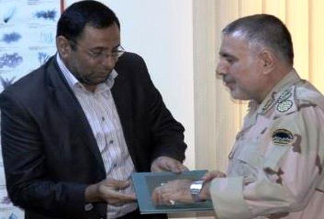 فرمانده یگان حفاظت منابع و آبزیان شیلات هرمزگان تودیع و معارفه شد